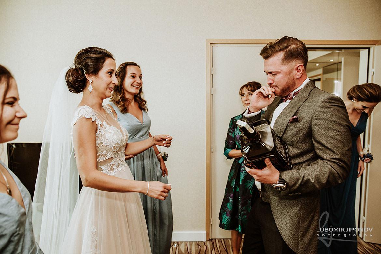 Взимане на булката от младоженеца в София