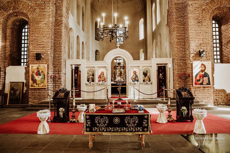 сватба в църква света софия