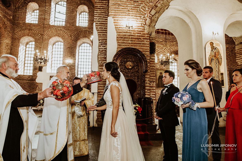 сватба в храм света софия
