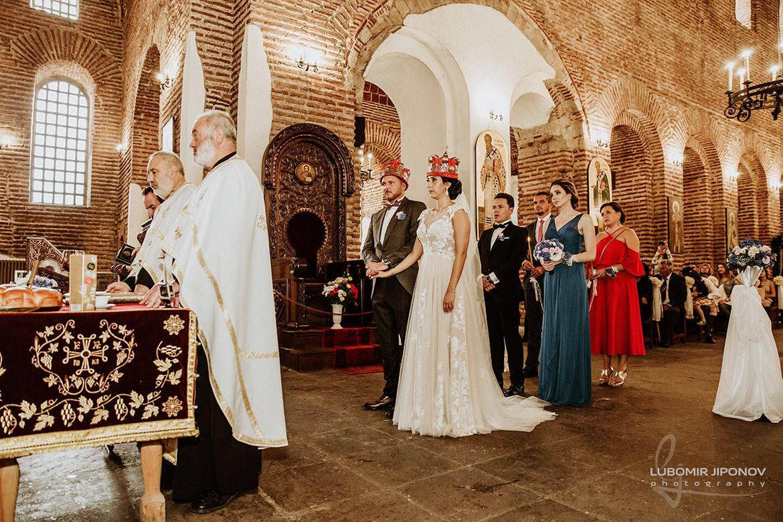 църковен брак в храм света софия