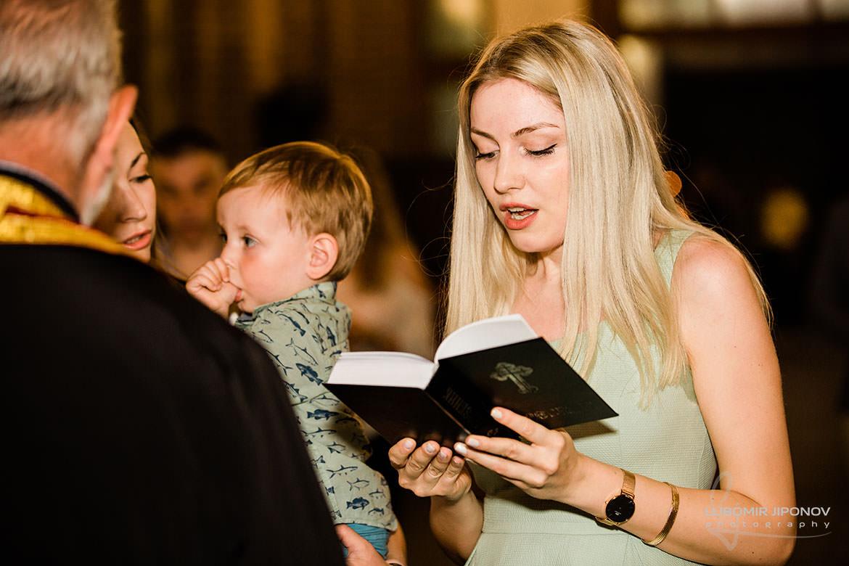 професионален фотограф за кръщене