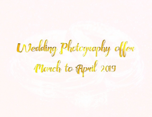 "Wedding photography offer – ""Only photographs"" 