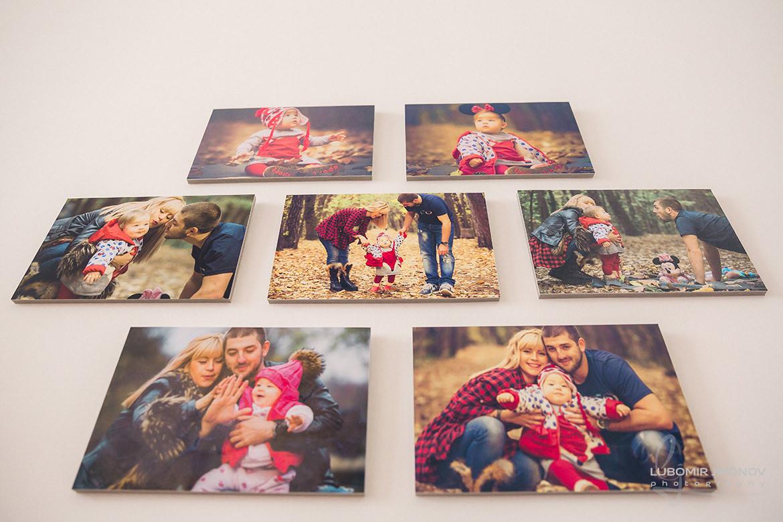 снимки за стена с материал капафикс