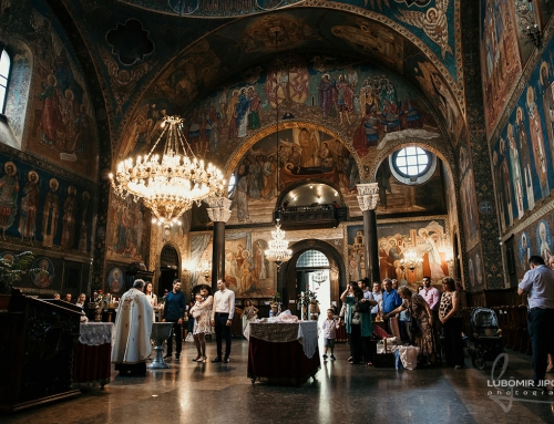 Photographer for christening Sofia, Bulgaria | Saint Nedelya Church
