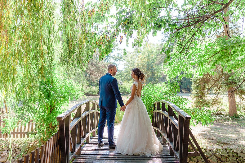 Сватба в дворец парк-музей Врана в София