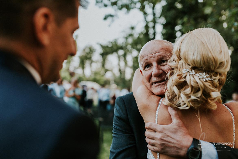 сватба в градината на ресторант корията в софия