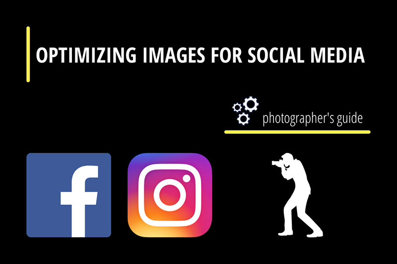 Optimizing images for social networks Facebook and Instagram