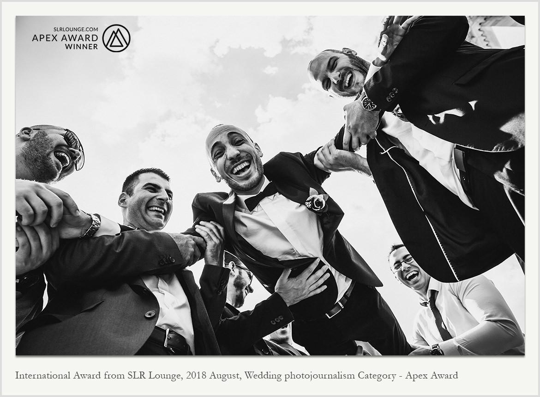 Международна награда за сватбена фотография в категория фотожурналистика